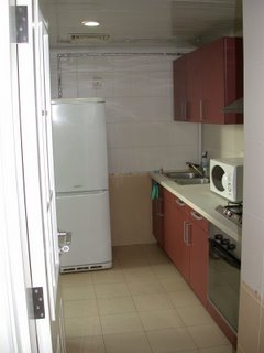 Kitchen of second flat