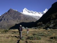 Trekking in the Andes, Peru