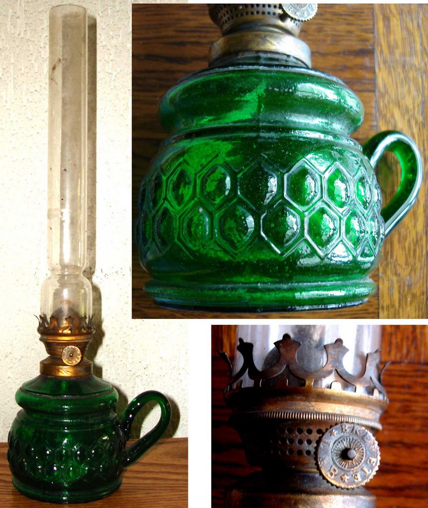 Victorian night lamps - In