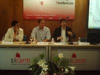 A la izquierda, Juan Valera y a la derecha, José Cerezo