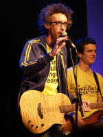 David Crowder and his freaky hair