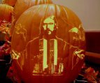 The face Of Jesus... on a pumpkin?