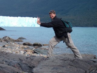 Hold that glacier back, son...feel the burn