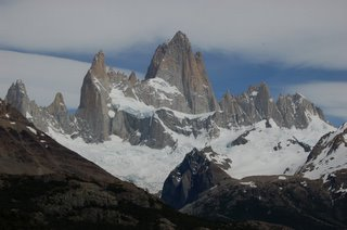 Fitz Roy on a great day! photo by Daniel Fasy