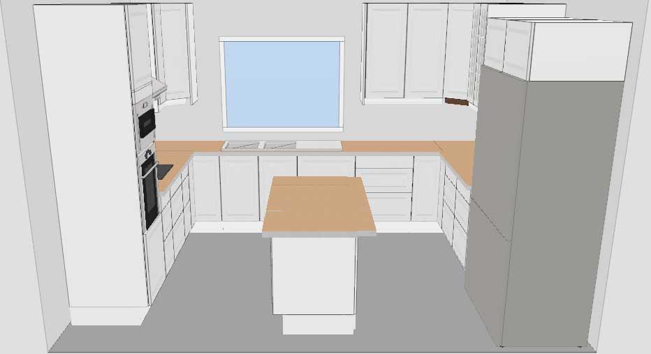 Vita Kok Ikea : vita kok ikea  Projekt Ekeryd Ritat kok po IKEA