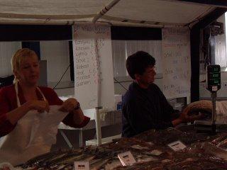 verse vis vismarkt wieringen foto