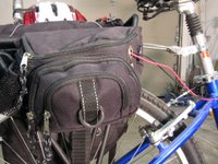 the custom battery pannier