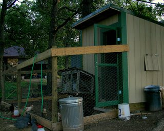 our poulty housing from the southwest corner facing north