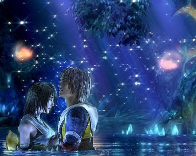 Final Fantasy X Tidus and Yuna