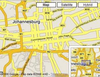 The Radioactive Yak: Google Maps Africa