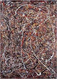 Jackson Pollock found in a thriftshop