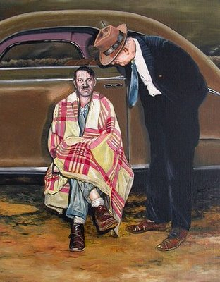 Hitler After a Car Accident by Aldert Mantje