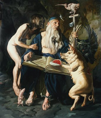 Temptation of St. Anthony by Erik Sandberg