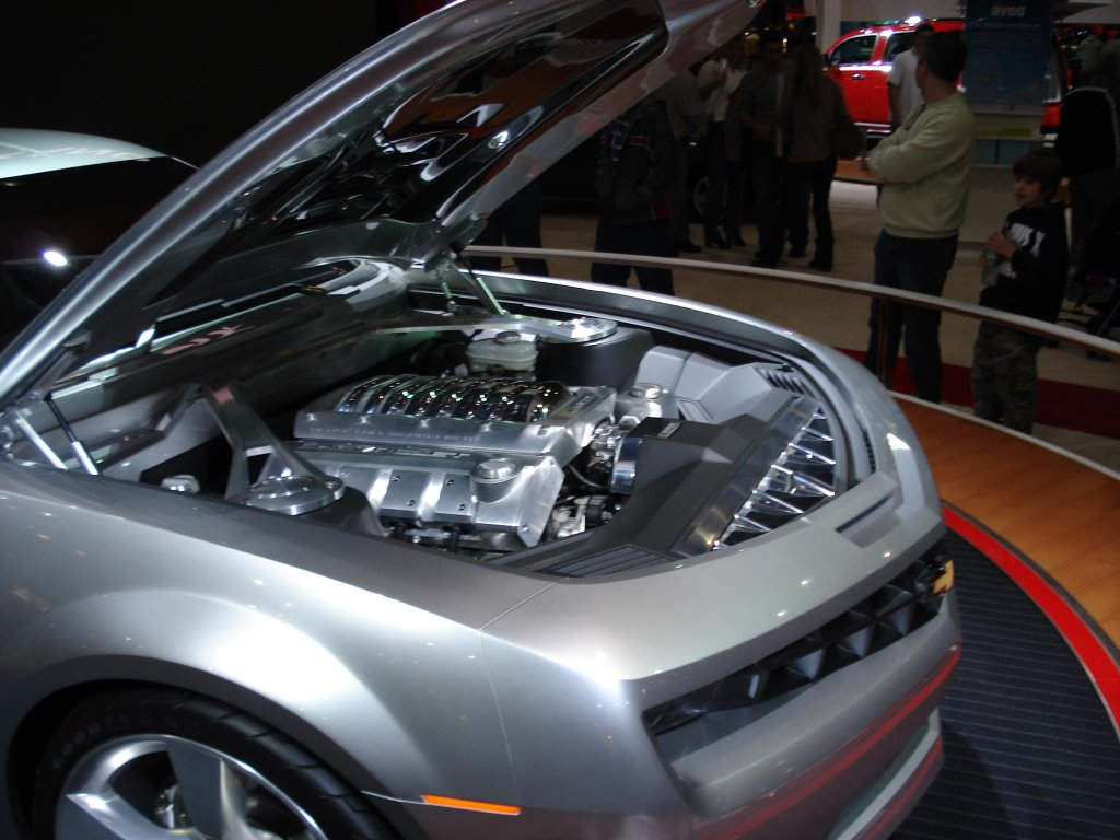 New York Auto Show Chevrolet Camaro Concept Car