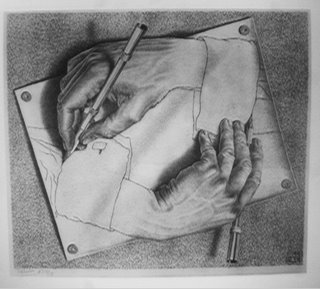 Hands - MC Escher