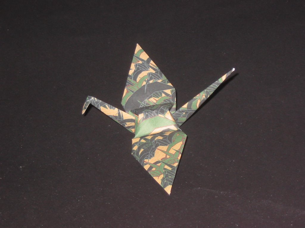 Sparks from the anvil operation peace cranes about the wordsmith something else that i am into besides political opining is origami so what do you get when you lace politics onto paperfolding jeuxipadfo Image collections