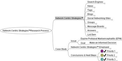 Network Centric Strategies™ Research and Results Process