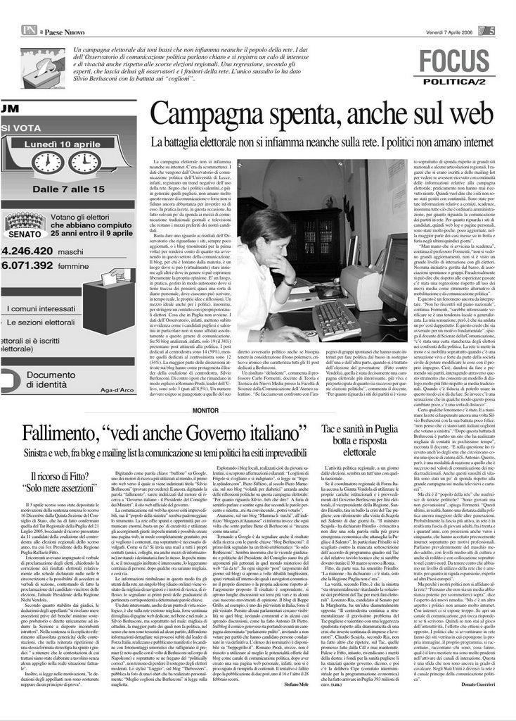 Pezzidimele fallimento vedi anche governo italiano for Sito governo italiano
