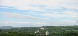 View of Stormont from Streamvale Farm