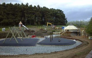 play park being built