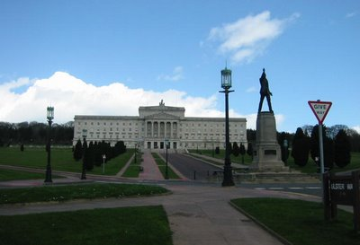 My photo of Stormont from April 2006