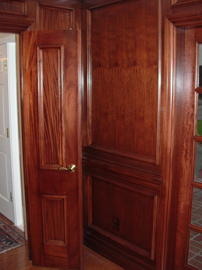 """Define Wainscotting: Wood Window Makeover: How Do YOU Say """"wainscoting""""?"""