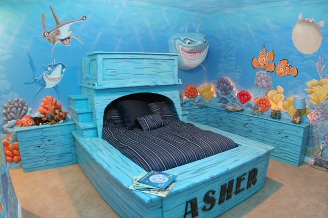 Merveilleux Finished Finding Nemo Room