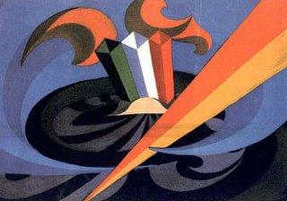 Giacomo Balla, Canto patriottico, 1915