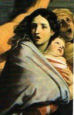 Guido Reni, la Strage degli Innocenti, particolare
