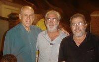 Deputado Estadual pelo Partido Verde, Dr. Ricardo Castilho, Presidente (do Clube) Ademar e o Diretor da Rádio, José Mendes