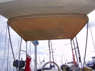 Bimini in place