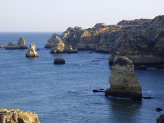 Freestanding rocks just to the west of Lagos