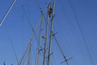 mast-top acrobatics
