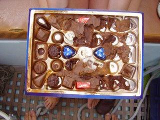 celebratory chocolates
