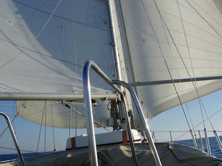 Twin head sails