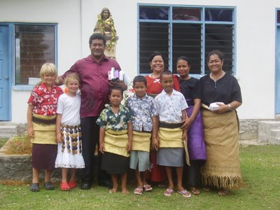 Tongan Sunday best