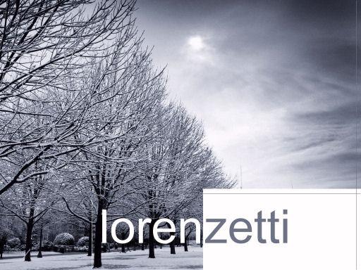 Benvindo ao Lorenzetti