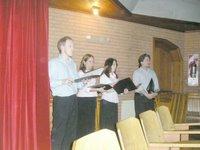 Gerardo, Marina, Lorena... y Johann