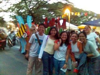 the UP lantern parade