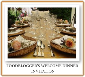 Foodblogger's Welcome Dinner
