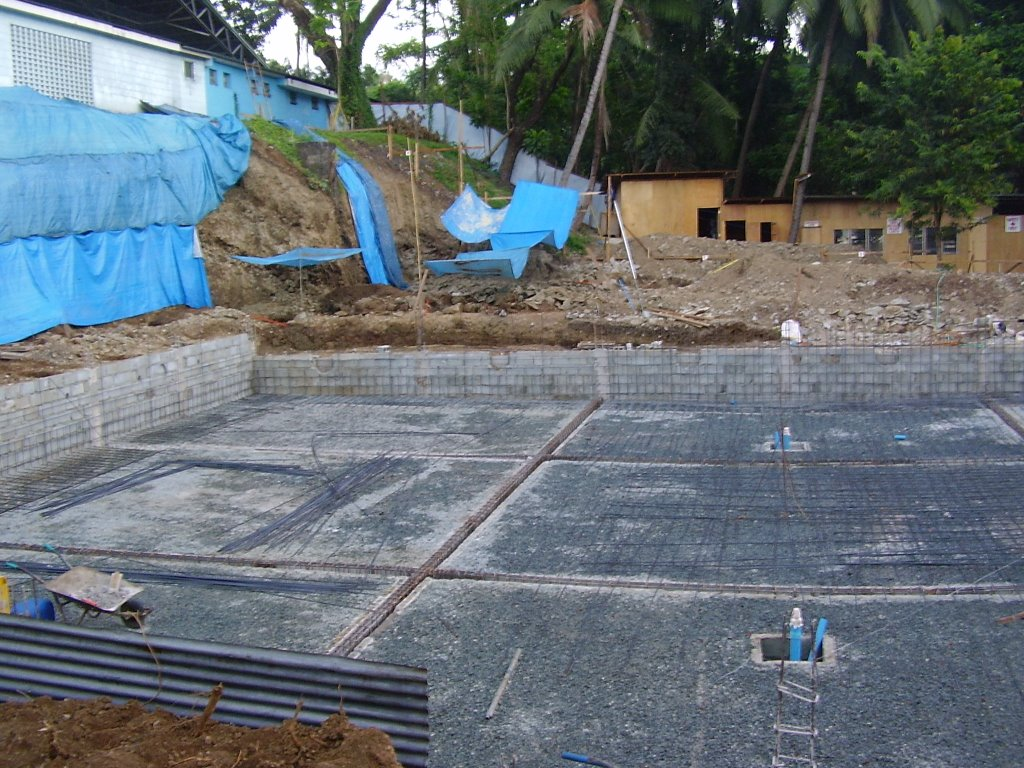 Ateneo loyola school swimming pool for Swimming pool construction