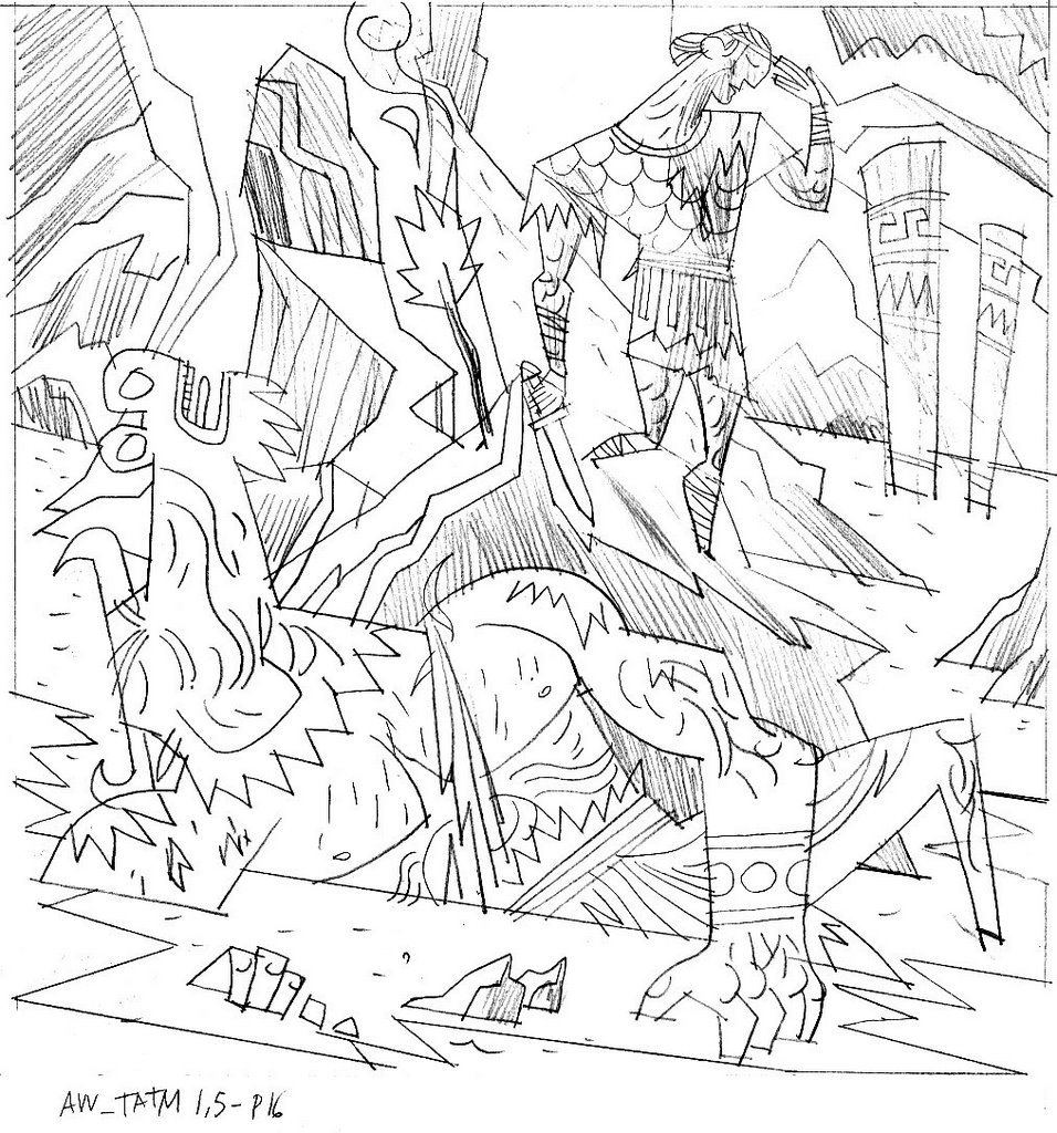 theseus coloring pages - photo#8