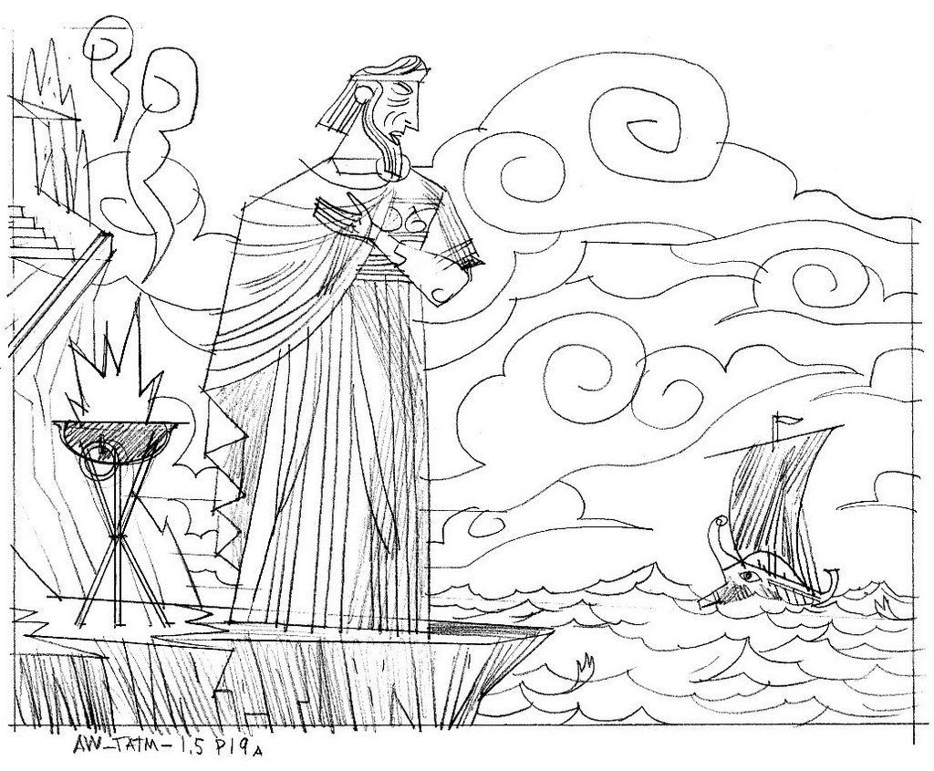 theseus coloring pages - photo#10