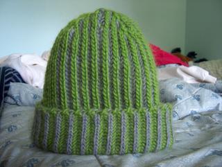 Off The Needles  Brioche Stitch Hat (for Alex) 3adb6461121