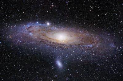 Andromeda Galaxy (M31) - 'Andromeda Island Universe', Robert Gendler