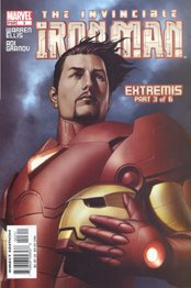 IRON MAN unmasked: Cover art to IRON MAN #3 by ADI GRANOV!