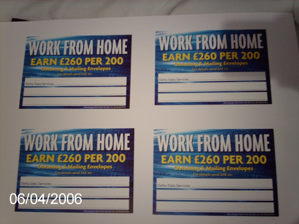 Work From Home Lowestoft
