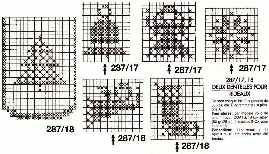 Новогодняя скатерть крючком филейное вязание 20