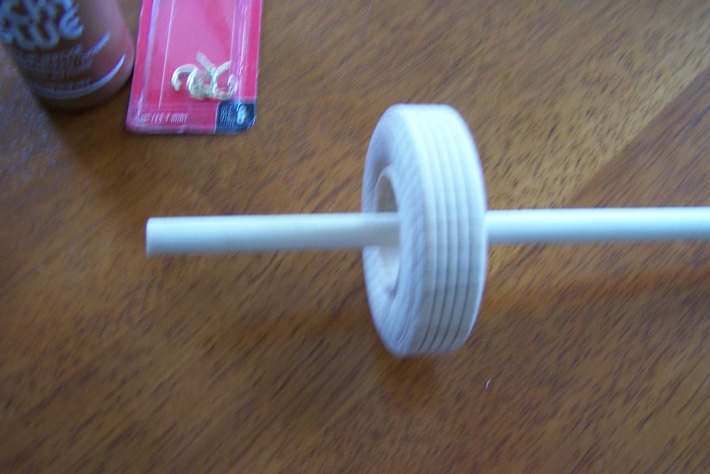 how to make yarnon a drop spindle