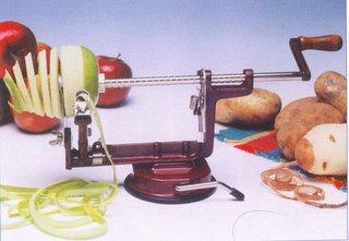 recettes de conserves maison l 39 plucheur de pommes pour les conserves domestiques. Black Bedroom Furniture Sets. Home Design Ideas